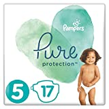 Pampers Pure Protection Größe 5, 17 Windeln, 11 kg+