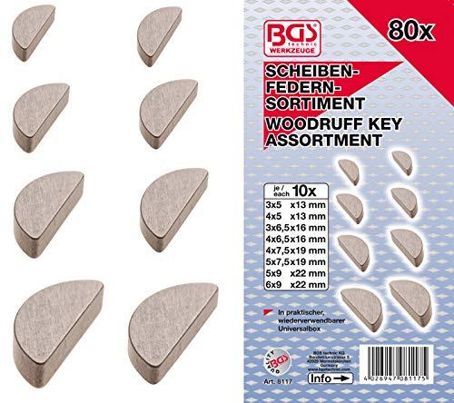 BGS 8117 | Federkeile-Sortiment | 80-tlg.