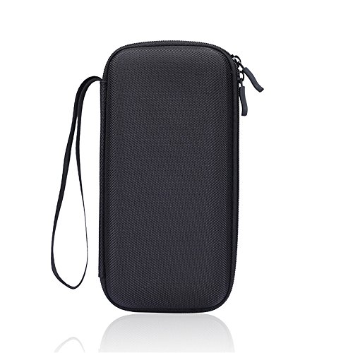 For Graphing Calculator Texas Instruments TI-84 / Plus CE 83 85 Hard Carrying Case Travel Bag Protective Pouch Box -Extra Room for Pen and Accessories(Black) Photo #2