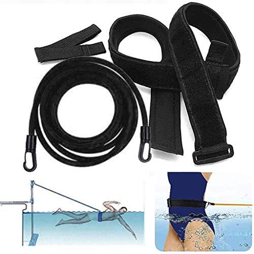 carol -1 Schwimmgurt Kinder/Erwachsene | Pool Schwimmgurt Schwimmwiderstand Gürtel Einstellbare | Optimales Schwimmen Ohne Gegenstromanlage | Gepolsterter Schwimmgürtel | Schwimmtrainer
