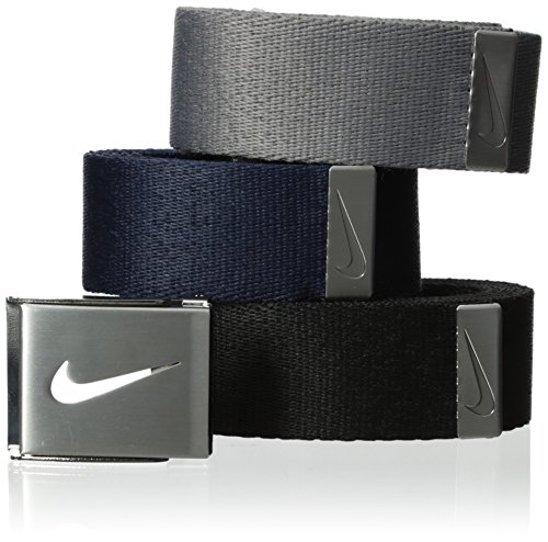Nike Golf Herren 3in 1Web Pack Gr. One size, Black/Grey/Navy