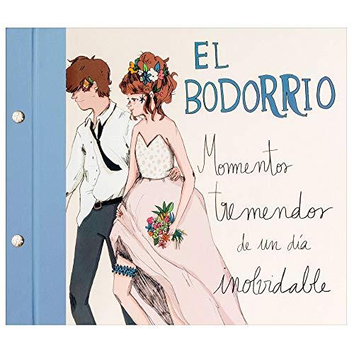 Recuerding - Álbum de Fotos para Bodas, 64 Páginas (27x24cm) | Escribir y Pegar | Moderno, Original y Vintage | Libro de Firmas | Novios, Parejas y Recién Casados | Hecho en España