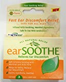 EarSoothe 3 Pair Natural Relief Silicone Earplugs