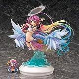 No Game No Life Zero - Jibril (Feather Ver.) 25cm PVC Figure Anime Statue Toys