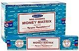 Satya 3X MONEY MATRIX Incense Sticks with Souvenir Batch By Sterling Effectz