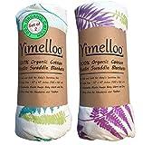Muslin Swaddle Blankets Organic Cotton Best Baby Shower Gift Unisex...