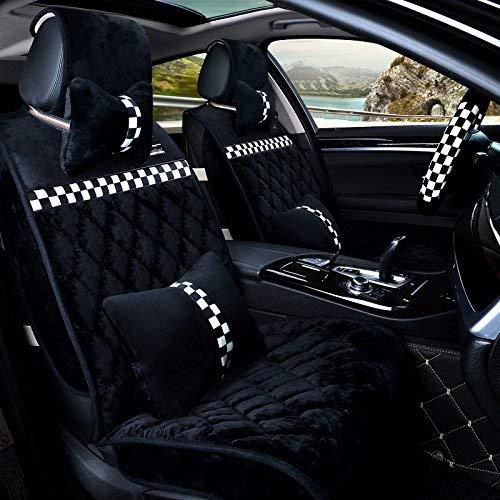 Funda de asiento para accesorios de coche, edición Deluxe (12 juegos) edición estándar (7 juegos) para coche universal para cuatro estaciones 5 colores a elegir (color: # 34)