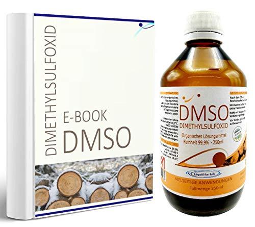 LIQUID FOR LIFE® - DMSO 1000 ml 99,9% Reinheit Ph. Eur. - Dimethylsulfoxid pharmazeutische Reinheit in Braunglasflasche in DEUTSCHLAND hergestellt + RATGEBER