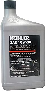 10w30 oil for mower