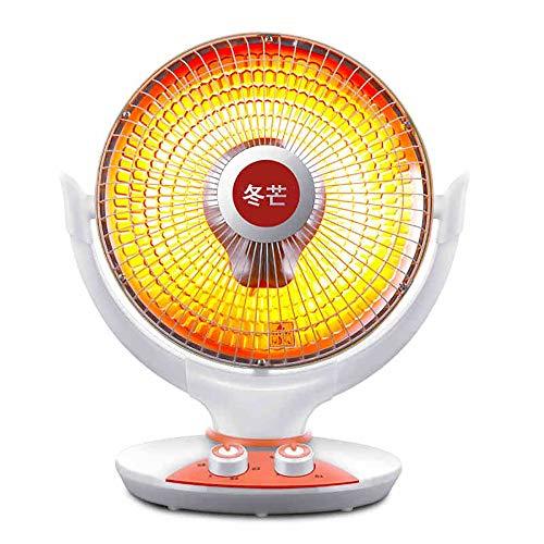 ZSIF Elektrische verwarming, 800 W, kleine zonne-verwarming voor thuis, kantoor, automatische kop 120 graden groothoek, snelle verwarming, geschikt voor 10-20 vierkante meter schudden
