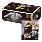 【Amazon.co.jp限定】 シーバ (Sheba) キャットフード シーバデュオ 香りのまぐろ味セレクション 猫用 240g(20g×12袋入)×12個 (ケース販売)
