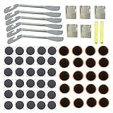 3-h palancas de neumáticos para bicicletas parches de reparación parches de punción de neumáticos de bicicleta autoadhesivo para neumáticos de bicicleta(6pc)