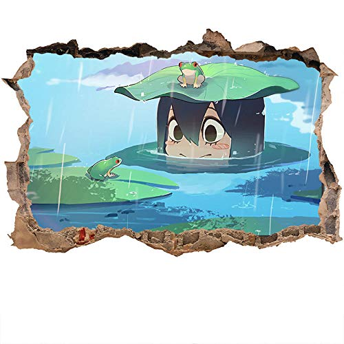 Nensuo 3D Anime My Hero Academia Deku - Póster Decorativo para Pared Fondo de Pantalla póster Pegatina de pared-80 * 120CM-B_60*90CM