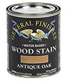 General Finishes Water Based Wood Stain, 1 Pint, Antique Oak