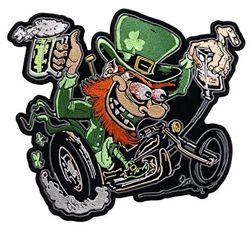 Titan One Europe Leprechaun Irish Biker Patch Duende