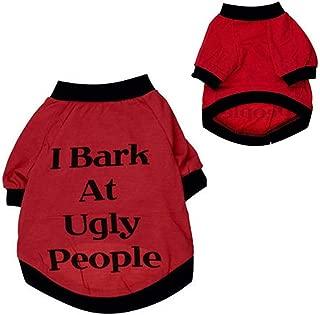 BingYELH Pet Shirt, Puppy Clothes Sweater Soft Dog Vest Sweatshirt for Small Dog Doggie Clothing Apparels Teddy Vest Pet Top