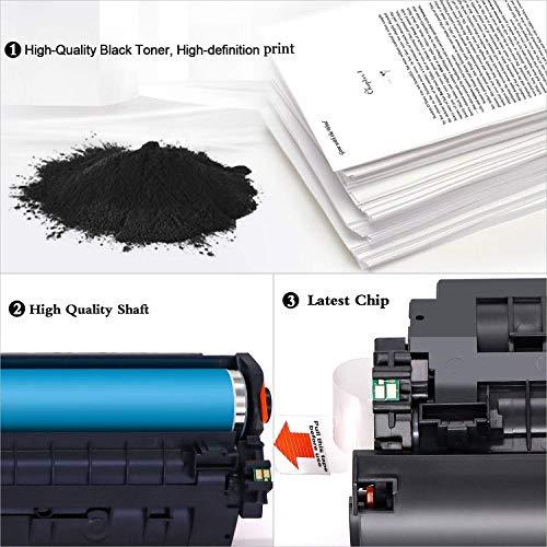 ONINO CF244A 44A Reemplazo para HP 44A CF244A Cartucho de Toner Compatible con HP Laserjet Pro M15w Impresora HP M15a Laserjet Pro MFP M28w Impresora HP Laserjet MFP M28a (2 pcs) …