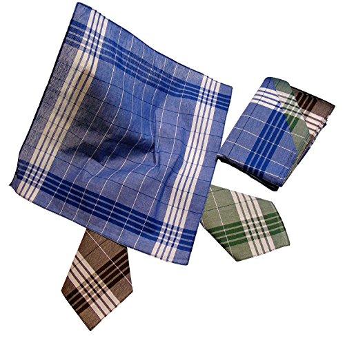 Karl Teichmann Arbeits-Taschentücher (Arabias) 6 Stück im Polybeutel
