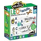 Headu- Juego Infantil Educativo para Aprender a Leer y Escribir de los 3 años, Multicolor (1041746)