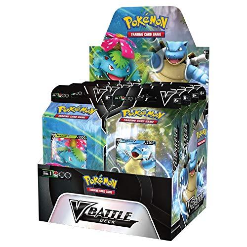 Pokemon TCG: V Battle Deck - Venusaur vs. Blastoise Display Box