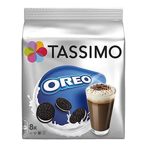TASSIMO Oreo Hot Chocolate Kakaogetränk Kapseln Heisse Schokolade 8 T-Discs