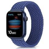 Runostrich Solo Loop - Correa trenzada para reloj compatible con Apple Watch Serie SE 6, correa de nailon de 44 mm y 42 mm, para iWatch f¨¹r 6/SE/5/4/3/2/1