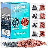 AQUASAVIOR Pack 8 bolsas de bolas minerales iónicas de repuesto, reemplazo de piedras bioactivas de...