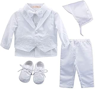 accd40f1a Amazon.com: 3-6 mo. - Christening / Clothing: Clothing, Shoes & Jewelry