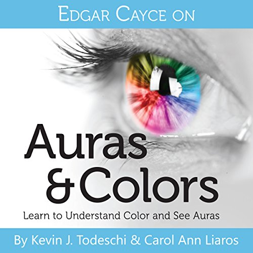 Edgar Cayce on Auras & Colors audiobook cover art