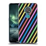 Head Hülle Designs Offizielle PLdesign Streifen Geometrisch Soft Gel Handyhülle Hülle Huelle kompatibel mit Nokia 6.2/7.2