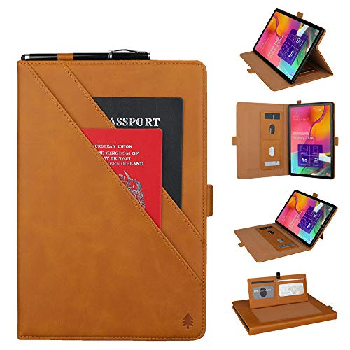 HSKB tablet beschermhoes, modedesign PU lederen flip case cover voor Samsung Galaxy Tab A 10.1 T510 T515 2019 tablet auto sleep/wake-up
