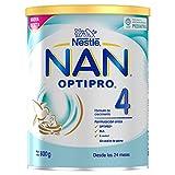 Nan Optipro 4 Preparado Lácteo Infantil, Fórmula de Crecimiento en Polvo, A Partir de Los 24 Meses, 800g