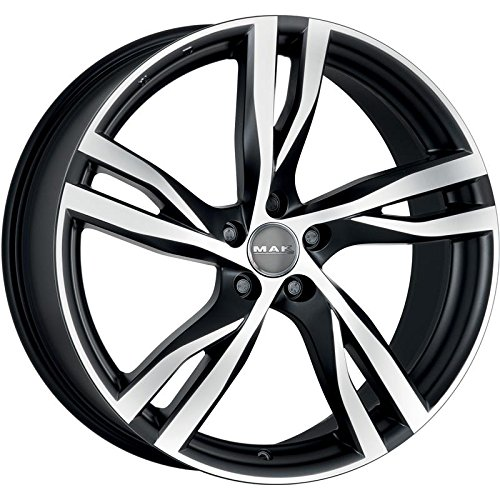 MAK STOCKHOLM CERCHI IN LEGA ICE BLACK 7,5x17 5x108