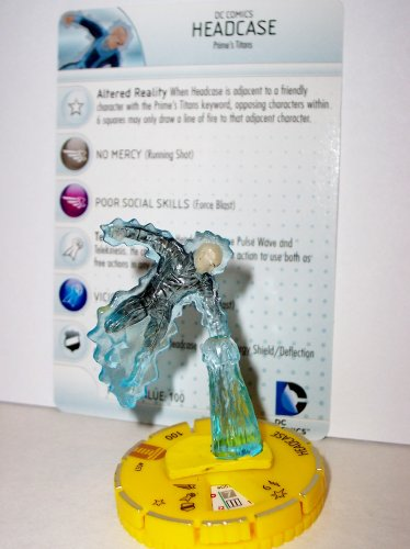 Heroclix DC Teen Titans #057 Headcase (Chase) Figure with Card