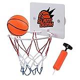 Zebroau Basketballkorb für Kinder mit Ball, Basketball-Set Mini, Wandhalterung Basketball Sucker für die Erziehung von Kindern und Basketball-Liebhabern
