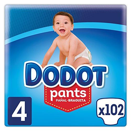Pañales desechables tipo braguita Dodot Pants