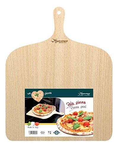 Eppicotispai Birchwood Pizza Peel, 14.75 by 19.70, Cream by Eppicotispai