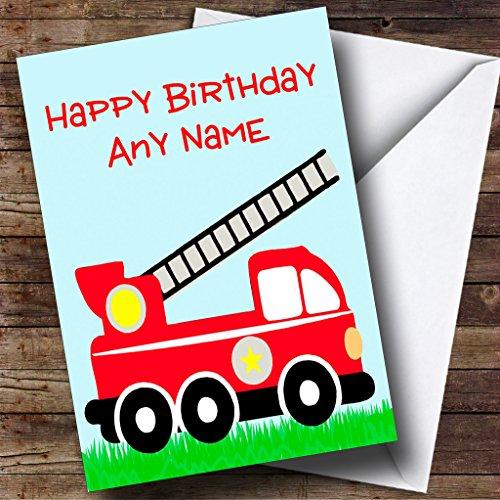 Brandweerman Brandweerman Gepersonaliseerde Verjaardagskaart