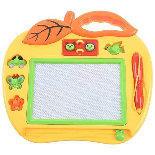 TOOGOO Pizarra Mágica Color Formato Peque?o con Sellos, Juguete para Ni?a Y Ni?o de 18 Meses, Mini Juegos para Bebés Y Ni?os de 2 Y 3 A?os – Juguete Simple de Ocio Educativo Creativo