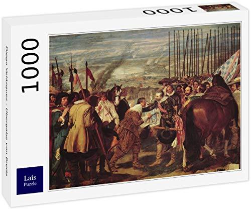 Lais Puzzle Diego Velázquez - Entrega de Breda 1000 Piezas