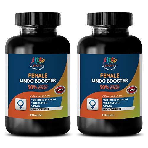Female Sexual Wellness - Female LIBIDO Booster - Advanced Formula - eurycoma longifolia Root Extract - 2 Bottles 120 Capsules