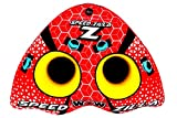 WOW World of Watersports Speedzilla 1-2 Person Towable Water Tube, Red, 20-1000