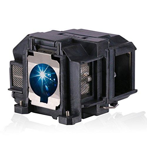 Bombilla de lámpara Loutoc V13h010l67 para Epson Elplp67 EB-S02 Bombilla de lámpara EB-S02H EH-TW480 de proyector Reemplazo