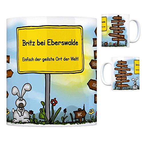 trendaffe - Britz bei Eberswalde - Einfach die geilste Stadt der Welt Kaffeebecher