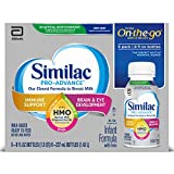 Similac Pro-Advance Non-GMO with 2'-FL HMO Infant Formula Ready-to-Feed, 8 Fl Oz, 24 Count