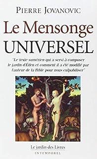 Le Mensonge Universel de Jovanovic. Pierre (2007) Broché
