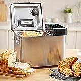 SADGE Acciaio Inossidabile Automatico Macchina per Il Pane di Cottura Macchina Multifunzione per Il Pane tostato Intelligente Yogurt Tostapane Pasta della Torta di Mixer Pane Casalingo Roaster