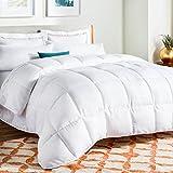 Hohlfaser-Bettdecke, Größe: Single, Double, King, Super King 13,5Tog Quilt Betten-Luxus, Microfaser, weiß, Doppelbett