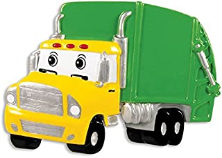Best garbage truck christmas ornament Reviews