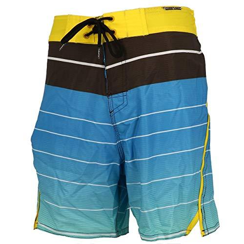 CULTURE SUD - Othello Bain Homme - Boardshort de Bain - Bleu Moyen - Taille XL